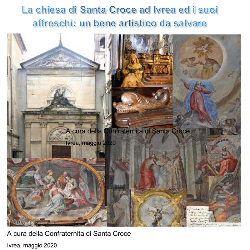 La chiesa di Santa Croce ad Ivrea ed i suoi affreschi: un bene artistico da salvare